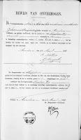 Vos, Nicolaas en Roos, Lijntje Huwelijksbijlage 12-04-1878 Bewijs van onvermogen Vos.jpg
