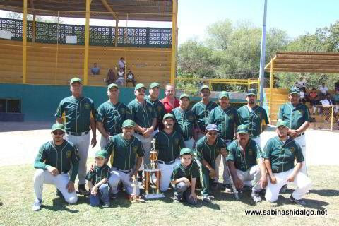 Club Amigos del torneo de softbol dominical