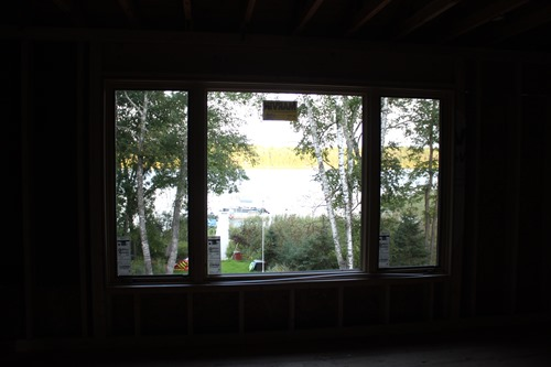view out master bedroom