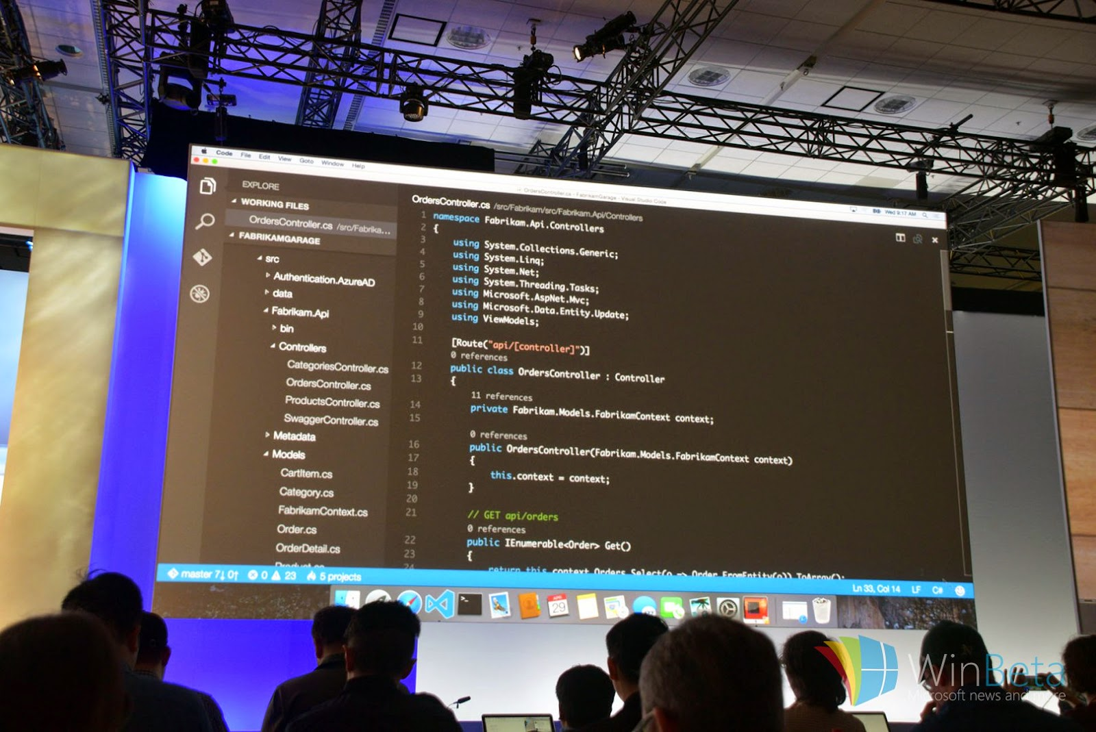 Microsoft Visual Studio for OS X
