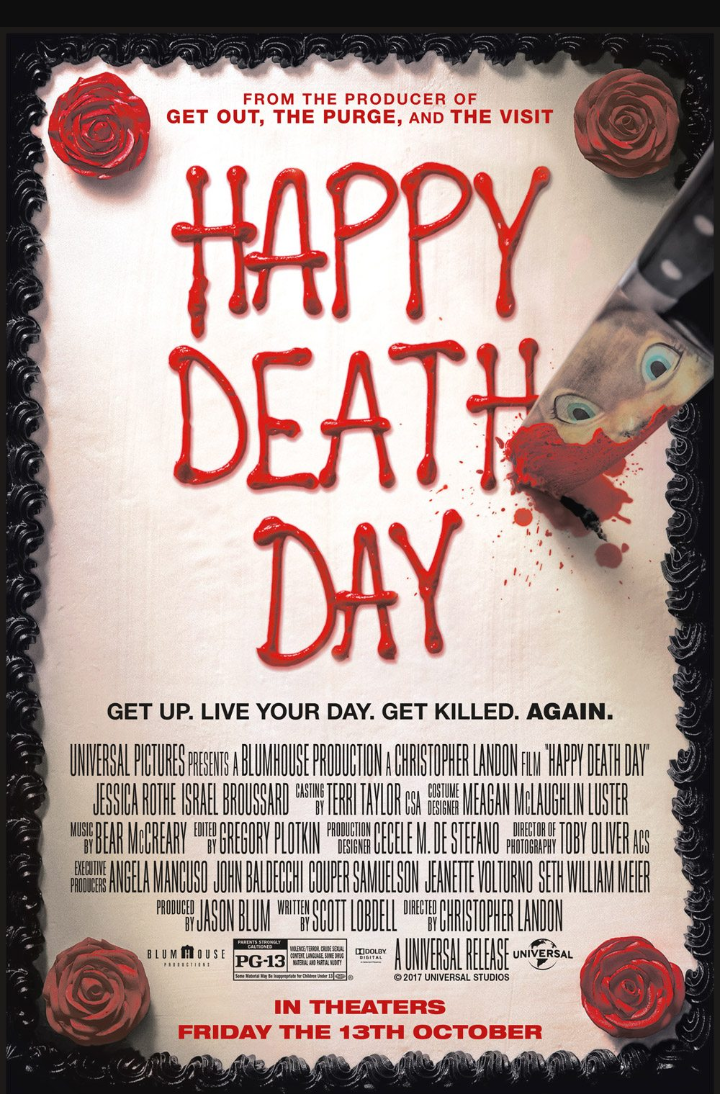 Happy Death Day film review  Distribution from Universal Pictures