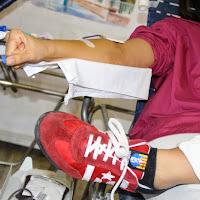 Pilar i donació a la Marató de Donació de sang  24-09-14 - IMG_4520.JPG