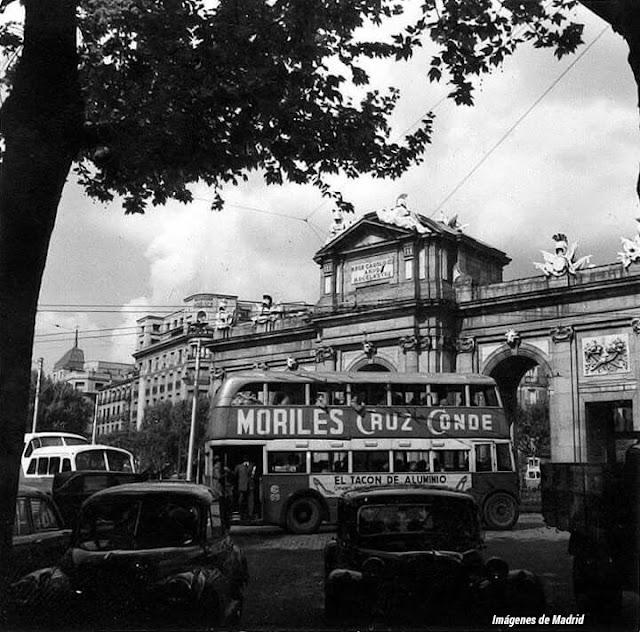 Imagenes antiguas de madrid la calle de alcala for Pisos en calle alcala madrid