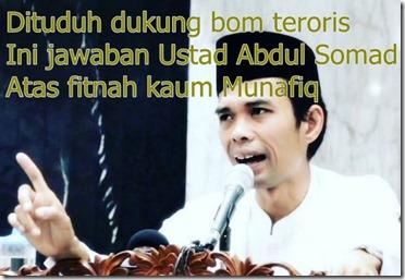 ustad abdul somad menjawab fitnah