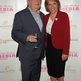 WWW.ENTSIMAGES.COM -   John Sergeant and Esther Rantzen   at     Older People in the Media Awards at The British Library London November 13th 2014Annual awards organised by charity Independent Age, in celebration of coverage which has positively portrayed older people or sensitively highlighted the issues they face. Hosted by Independent Age and sponsored by Barchester Healthcare.                                                 Photo Mobis Photos/OIC 0203 174 1069