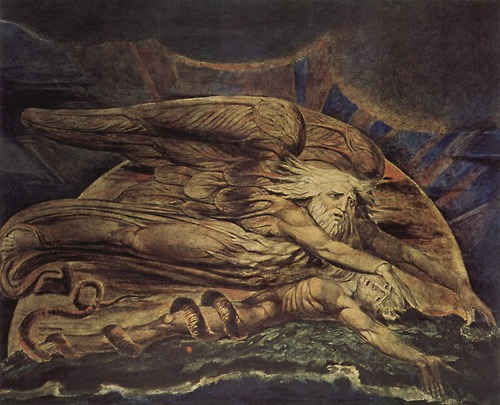 And Elohim Created Adam 1795 By William Blake, William Blake