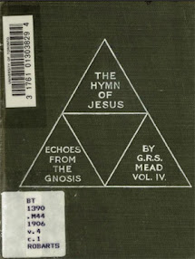 Cover of George Robert Stowe Mead's Book Echoes From The Gnosis Vol IV The Hymn Of Jesus