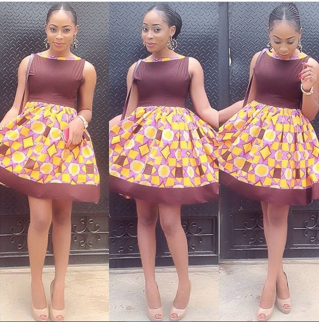 Latest Asoebi Ankara Styles Short Gown 2016 Fashionte