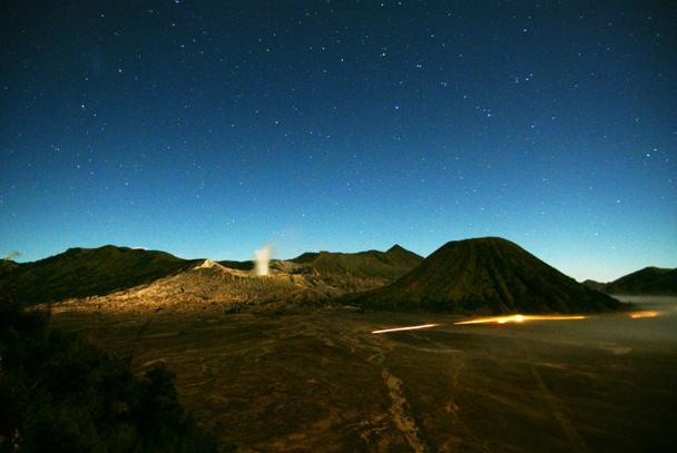 Stars Over Mount Bromo