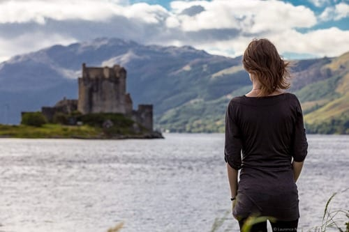 Jess Eilean Donan Castle Fig