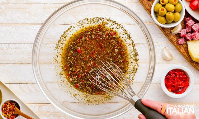 Antipasto Pasta Salad dressing