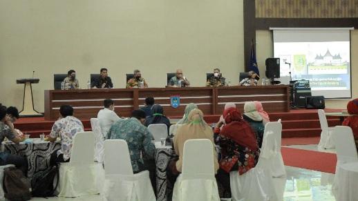Kabupaten Rokan Hilir Datangi Pemko Payakumbuh Untuk Bertukar Informasi SAKIP Masing-Masing Daerah.