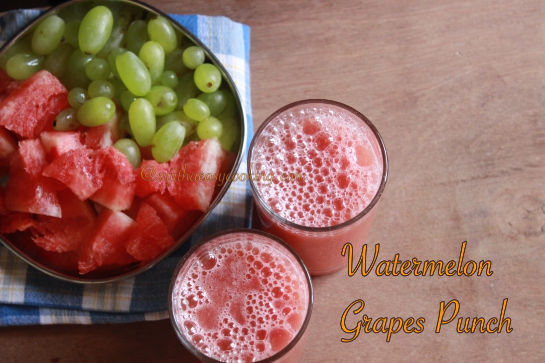Watermelon  Grapes Punch1