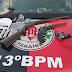 Em Itaporanga (PB): trio é preso durante operação contra tráfico de drogas; armas foram apreendidas