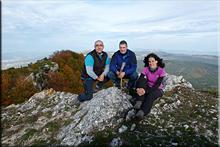 Revillallanos mendiaren gailurra 1.297 m. --  2015eko urriaren 17an