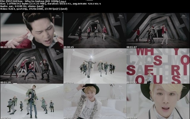 [MV] SHINee – Why So Serious (HD 1080p)