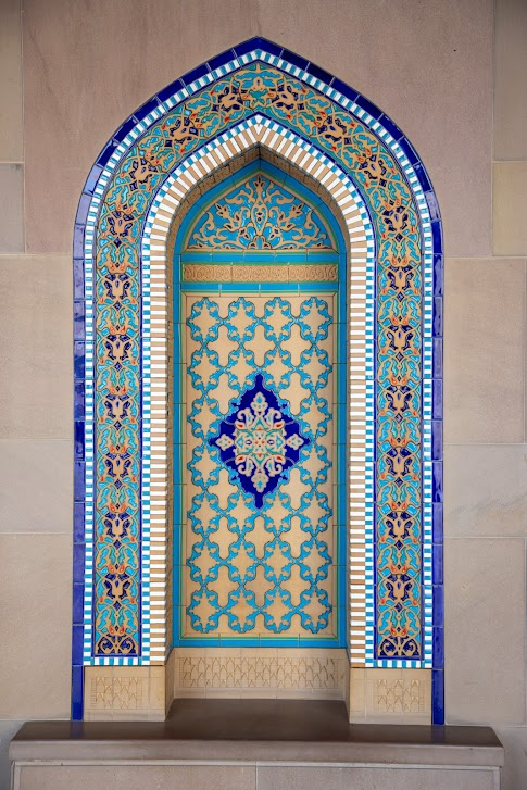 Wielki Meczet Sułtana Kabusa, krużganki