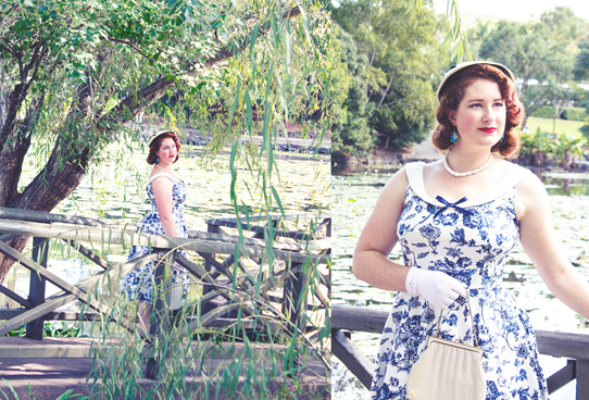 1950's inspired style with Collectif and Erstwilder | Lavender & Twill