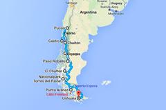 Chile / Argentinien südwärts 29.11.– 30.12. 2015 Teil 1