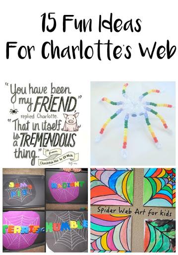15 Fun Ideas For Charlotte's Web