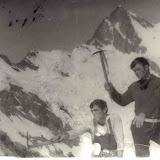 1973г. Валера Барсуков и Закир Басриев. Алибек.