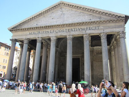 Pantheon. From My 7 Favourite Ancient Sites in Rome