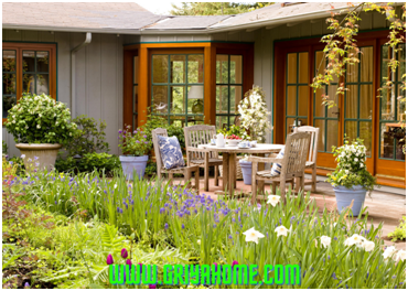 Cara Membuat Taman Belakang Rumah