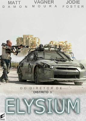 Filme Poster Elysium R5 XviD & RMVB Dublado