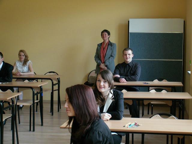Pierwszy egzamin gimnazjalny w ZS nr 2 w Dukli 2011 - PICT1354_1.JPG