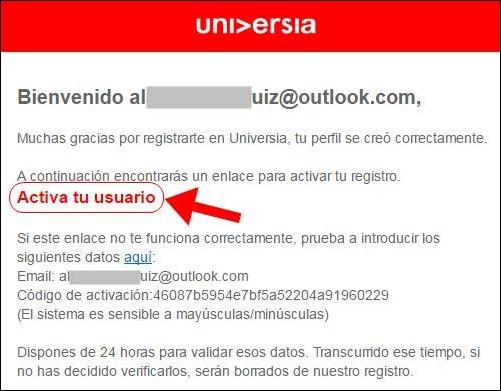 Abrir mi cuenta Universia - 466
