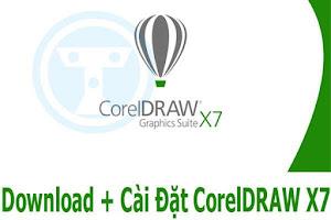 Download CorelDRAW X7 Full Crack + Hướng Dẫn Cài Đặt