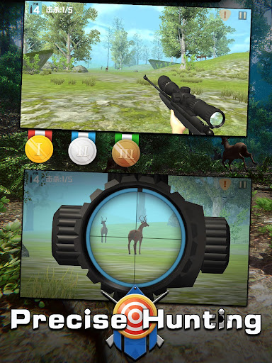 Télécharger Gratuit Hunting Action-sniper deer safari shooting games  APK MOD (Astuce) screenshots 5