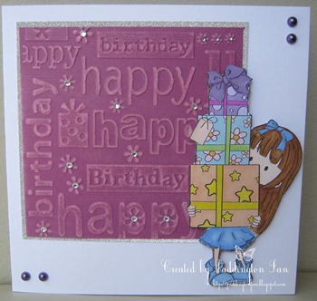 Jacky - embossing (442)