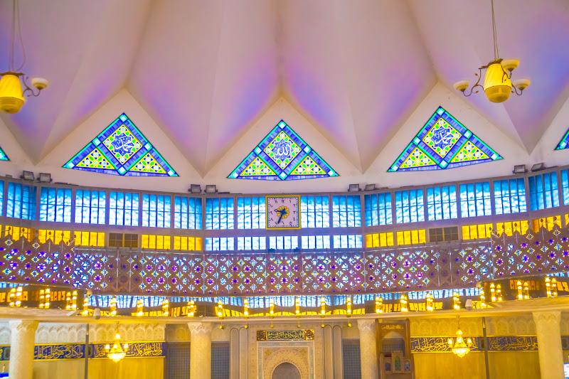 クアラルンプール 国立モスク9 礼拝堂
