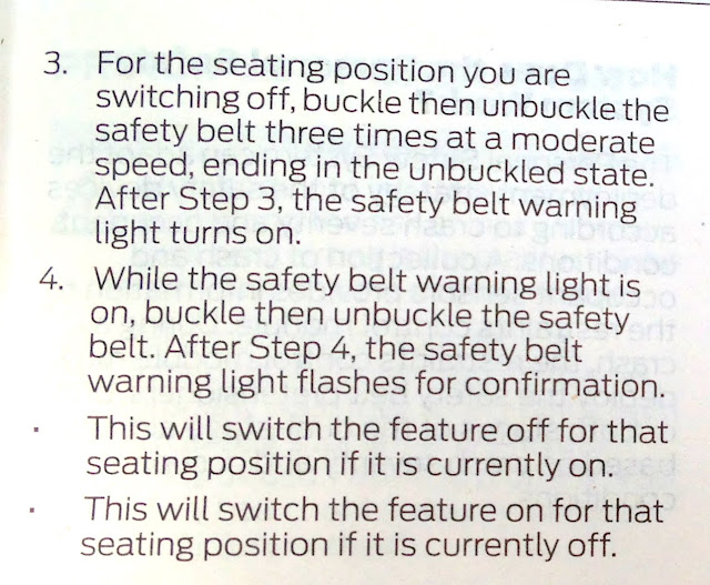 How To Turn Off The Seatbelt Chime In An F150 Keriblog