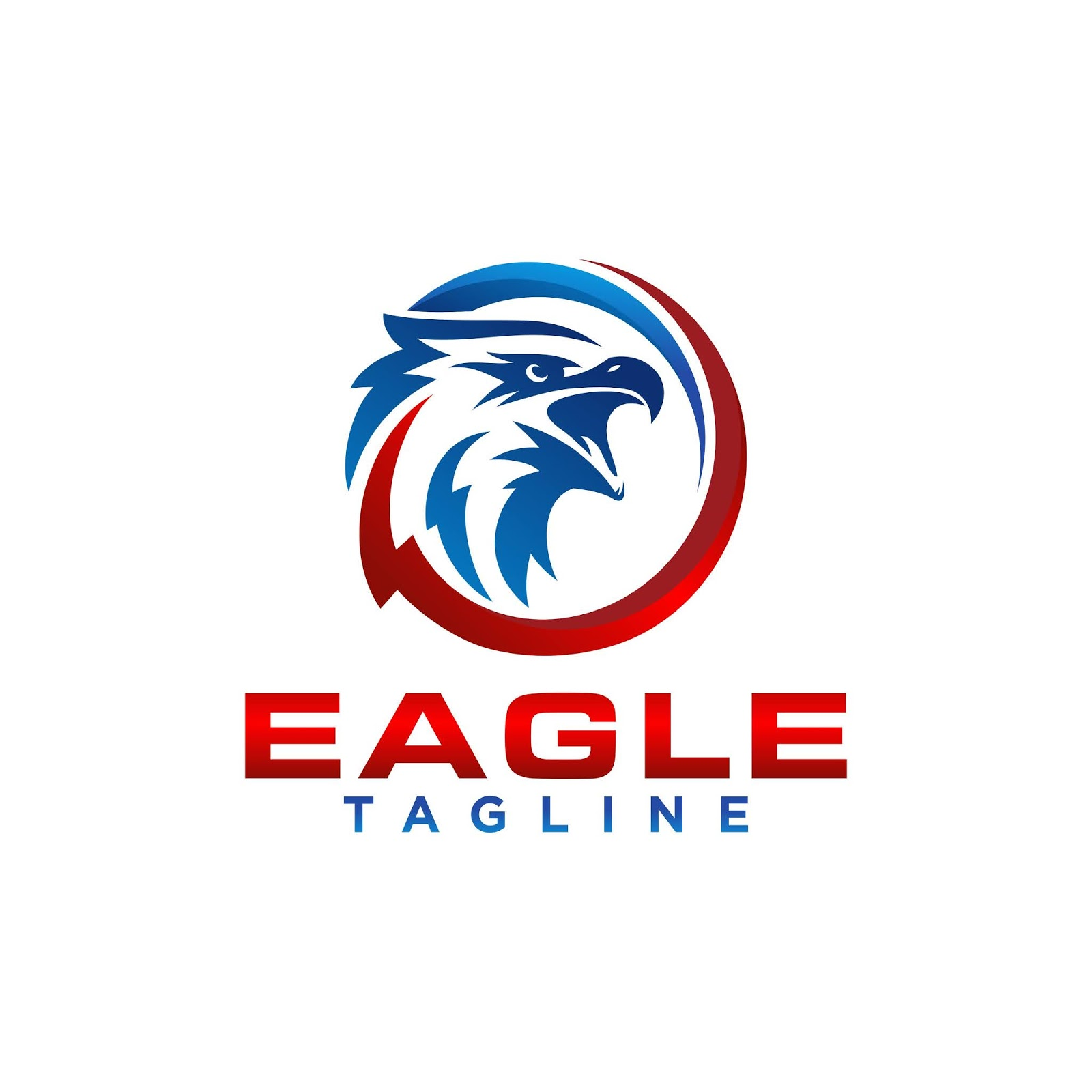 Creative Eagle Logo Stock Vector Free Download Vector CDR, AI, EPS and PNG Formats