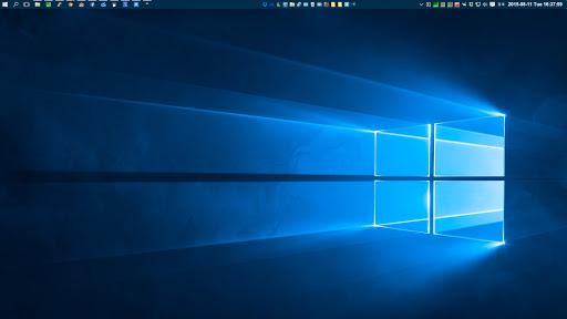 [スクリーンショット]Windows10のデスクトップ