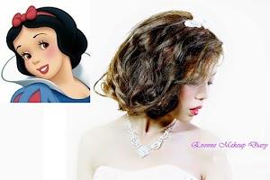 side swept curls glamour
