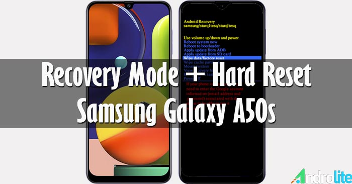 Recovery Mode + Hard Reset Samsung Galaxy A50s