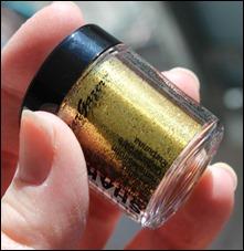 StarGazer Glitter Shaker Swatches Gold