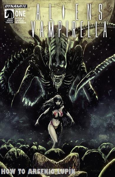 Aliens VS Vampirella - howtoarsenio.blogspot.com