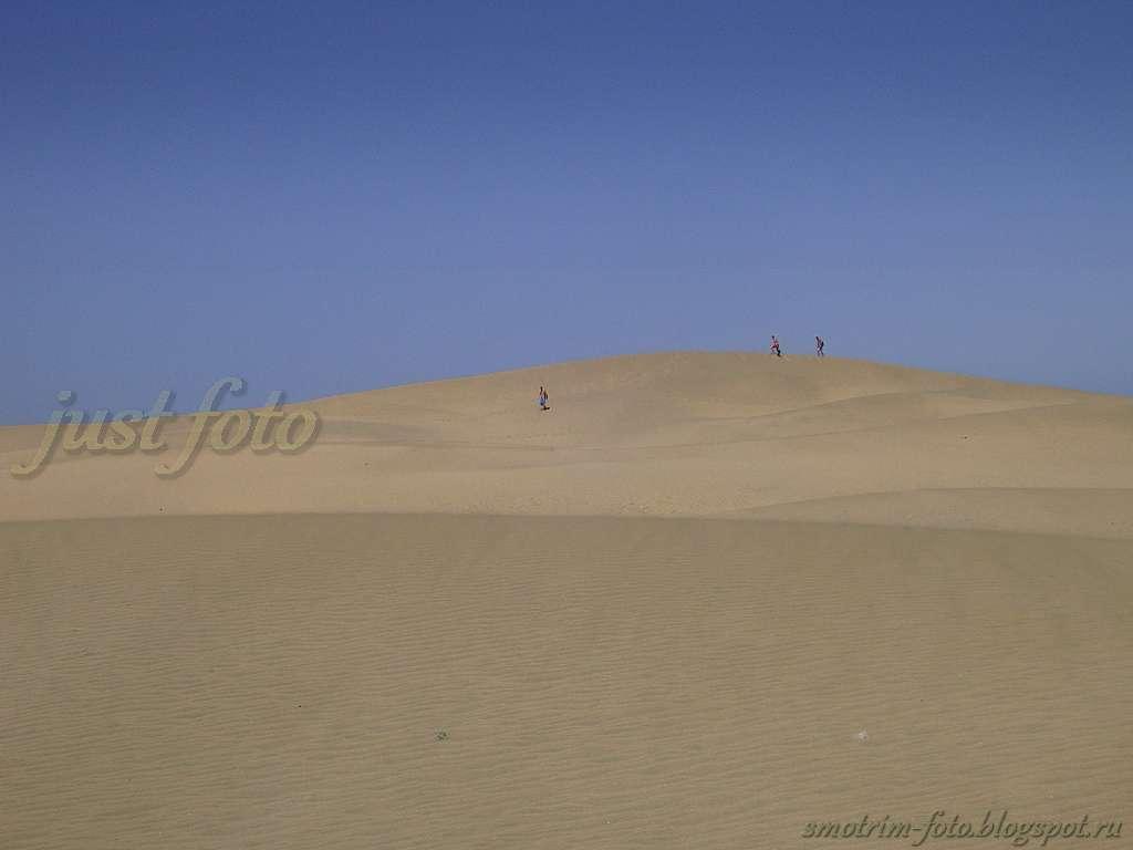 Дюны Гран Канария фото