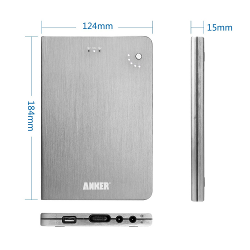 12V Power Bank - Anker Astro Pro2 20000mAh Multi-Voltage 5V 12V 16V 19V Portable Charger External Battery Pack