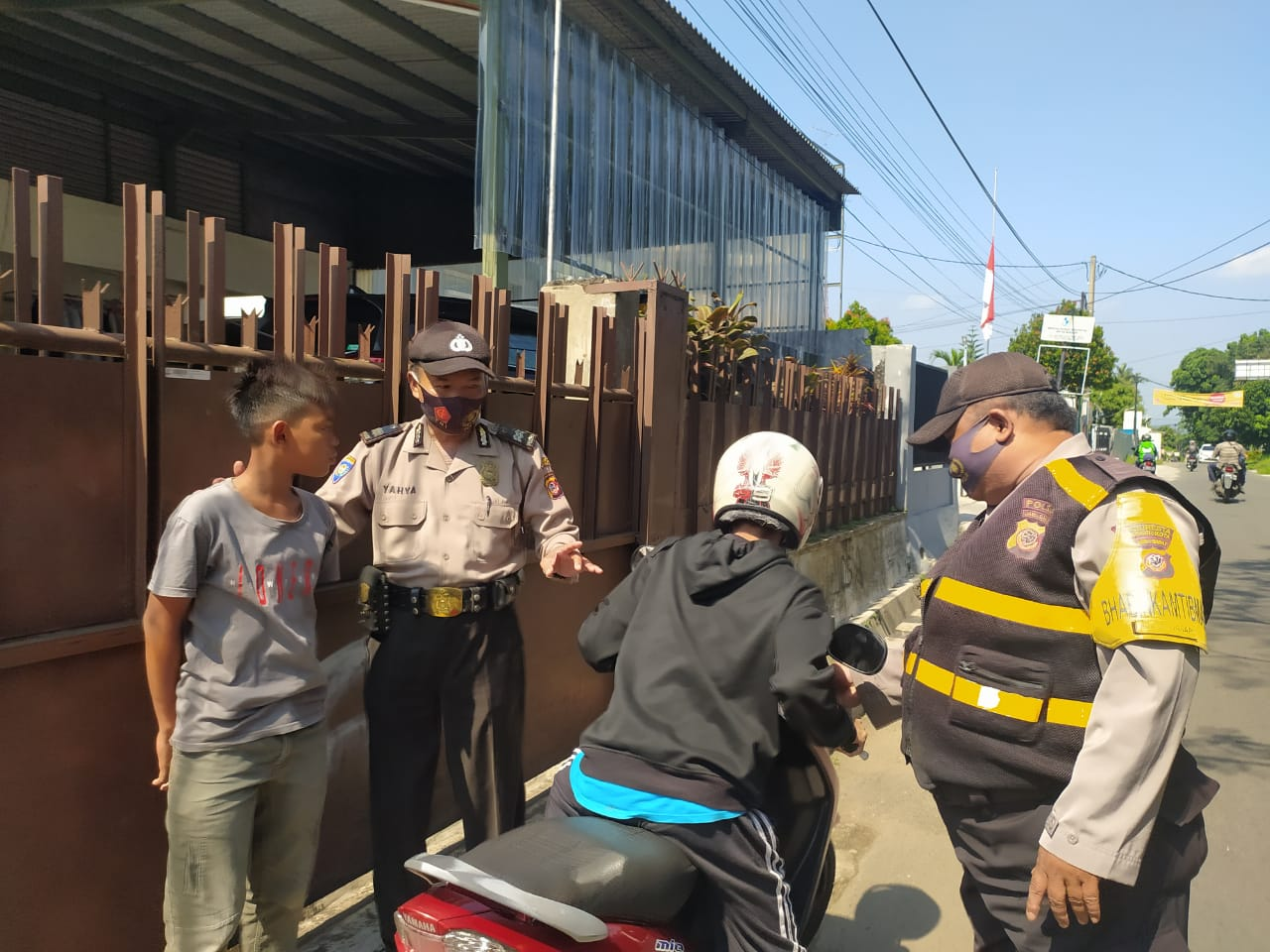 Polsek Bogor Selatan Semakin Gencar Melakukan Operasi yustisi Gakplin Masker Mandiri