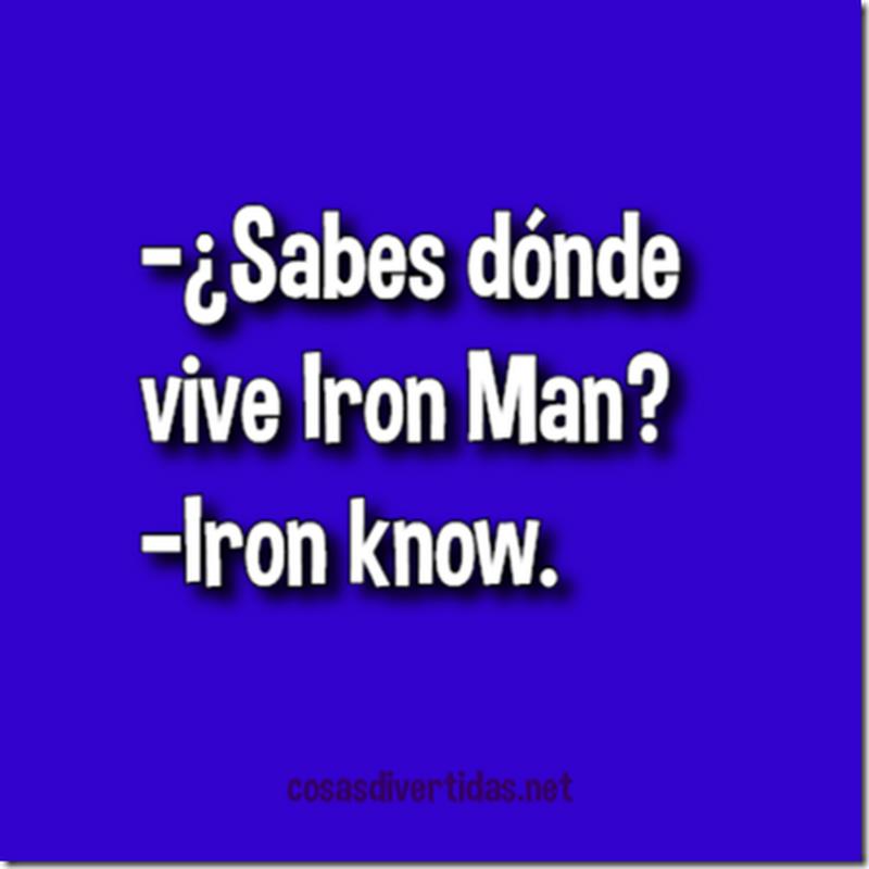 Chistes cortos Iron Man