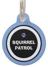 Blue Custom Dog ID Tag