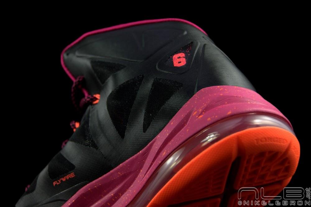 b0804ff09531 The Showcase Nike LeBron X Miami Floridians Throwback ...