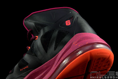 lebron10 floridians 42 web black The Showcase: Nike LeBron X Miami Floridians Throwback