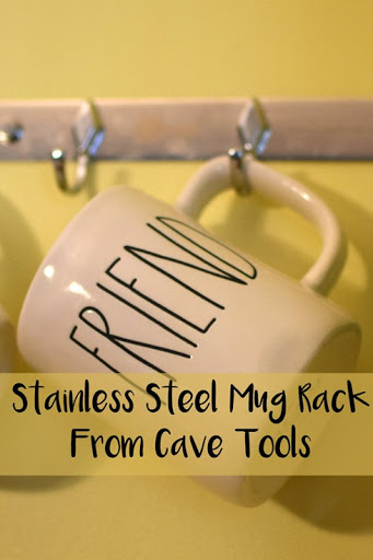 Stainless Steel Mug Rack From Cave Tools