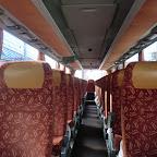 Het interieur van de Setra van Besseling bus 13